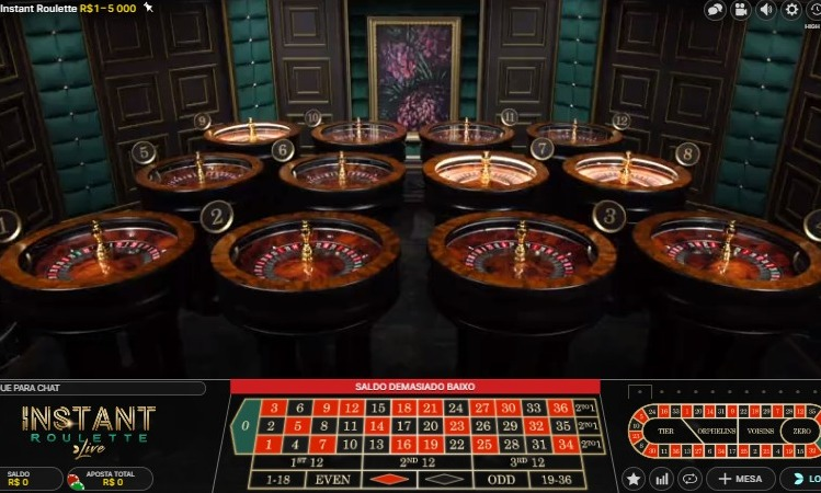 roletas no live cassino royal vegas
