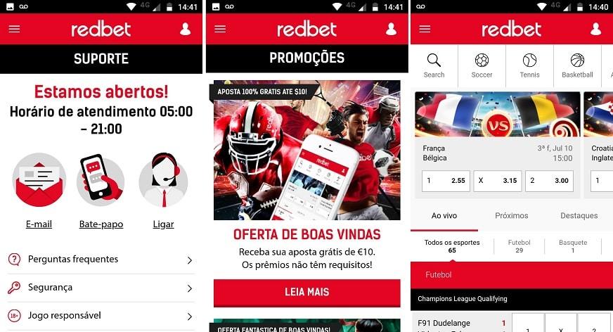 Redbet apostas e cassino no celular