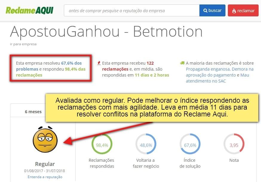 Betmotion Brasil Jogo responsável