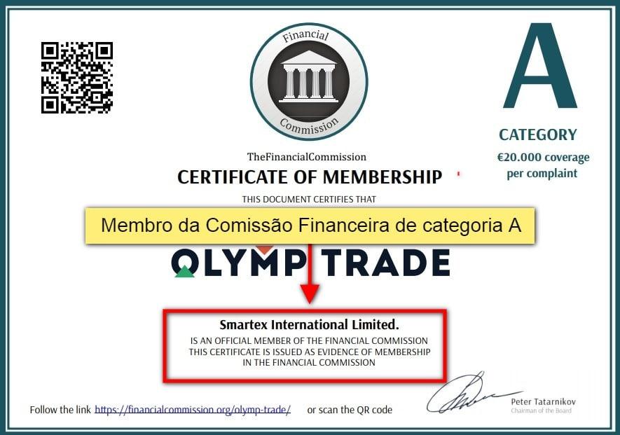 olymp trade é confiável