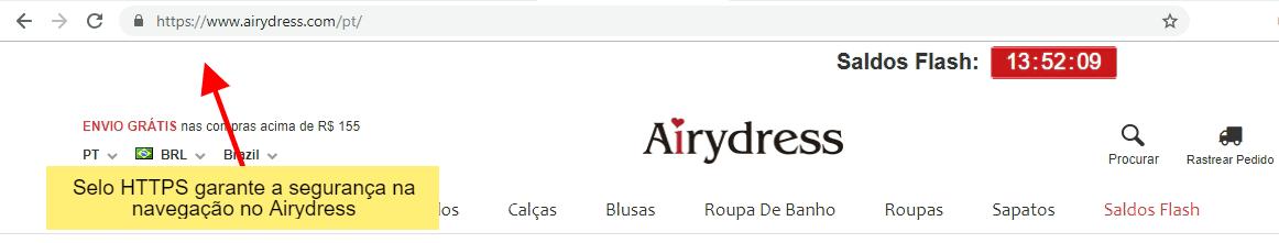 Airydress é confiável