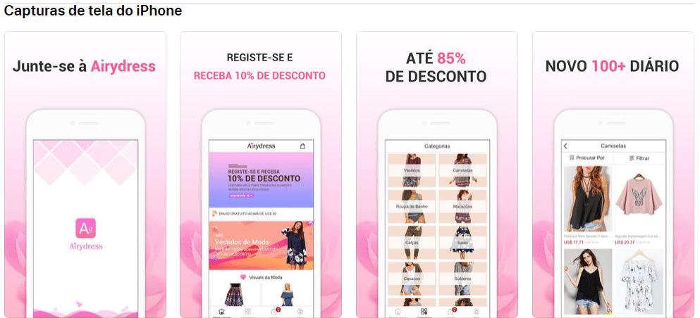 Airydress app