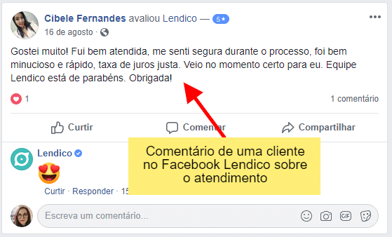Lendico Facebook