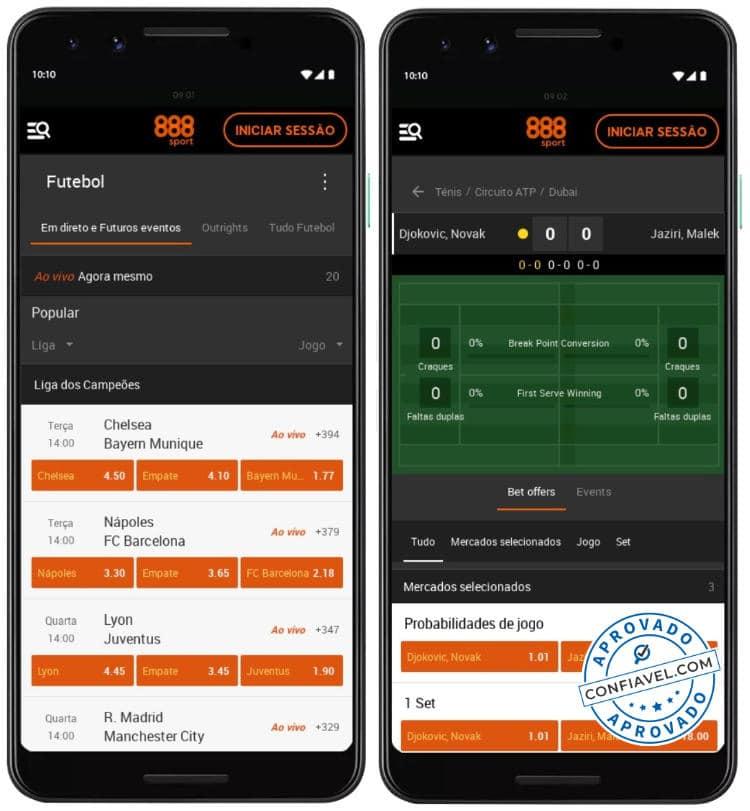 plataforma de apostas do 888 no celular