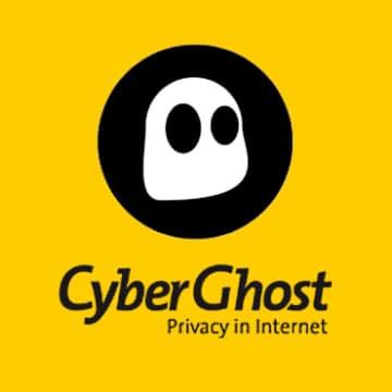Logo do CyberGhost, VPN segura