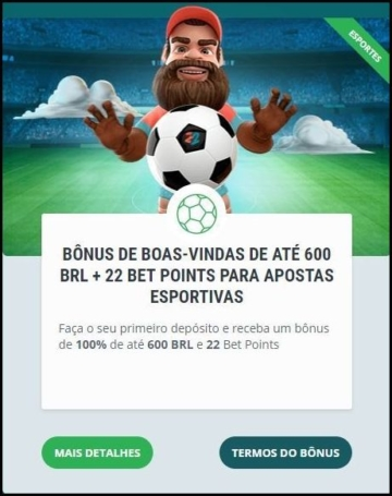Banner do bônus de boas-vindas do 22bet apostas esportivas