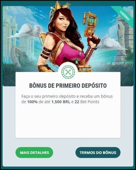 Banner de boas-vindas do 22bet cassino
