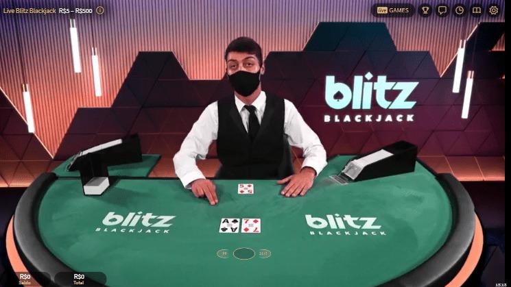 jogo blitz blackjack no royal panda