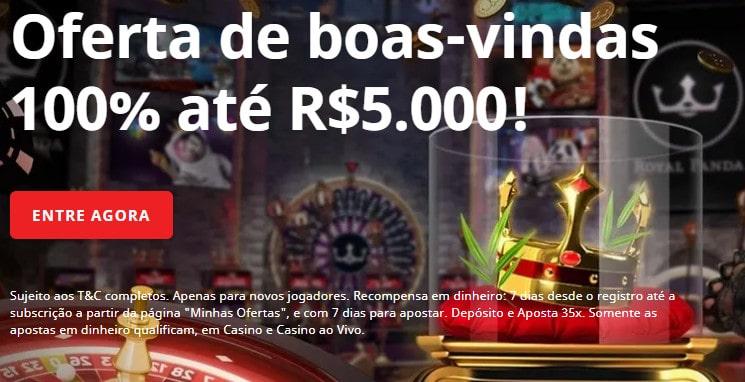 bonus registro casino royal panda