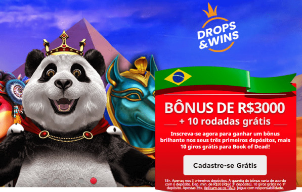 lp bonus boas-vindas royal panda