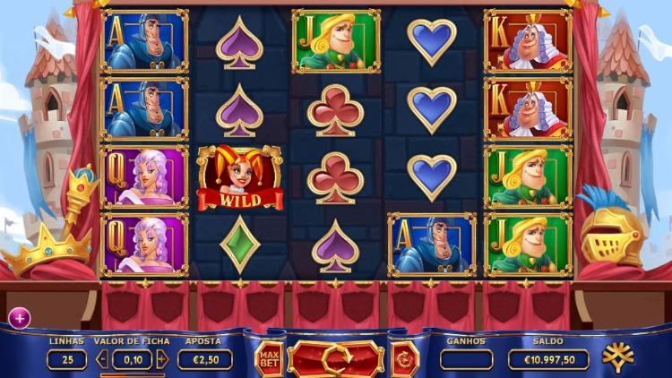 tela do jogo Royal Family no leovegas