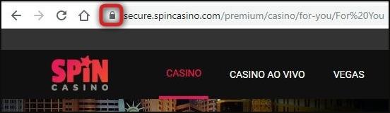 Spin Casino é um site seguro.