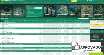 Homepage do Betwinner Brasil, site completo de apostas esportivas