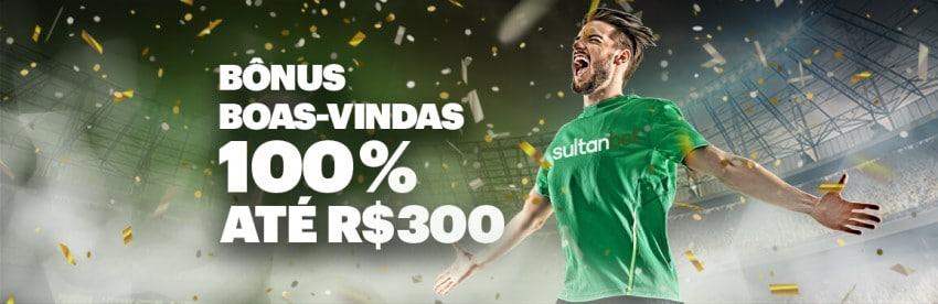 Bônus de boas-vindas para apostas esportivas do Sultanbet Brasil
