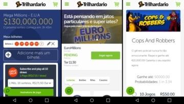 O Trilhardario App é leve e tem todas as funcionalidades do site