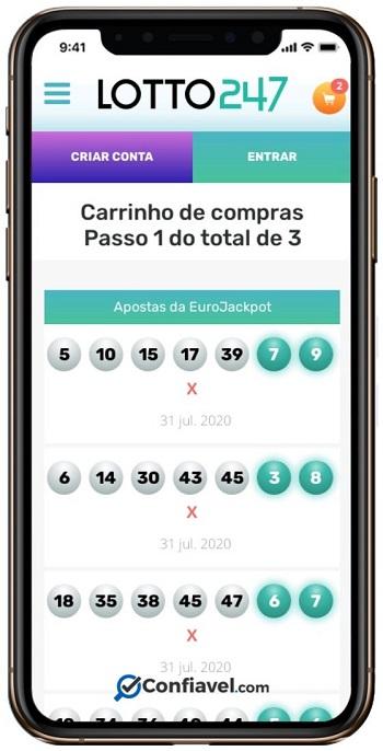 ambiente lotto247 no celular