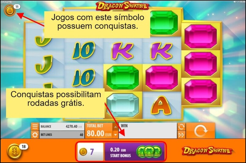 Conquistas do Europa Casino dão giros grátis