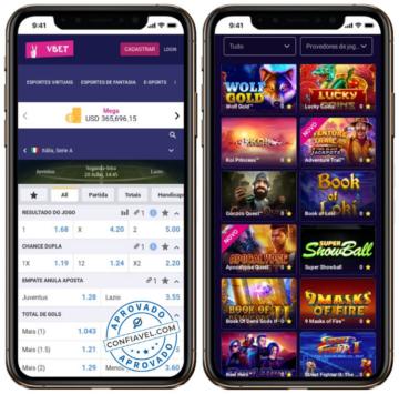 Vbet Brasil oferece apostas esportivas e cassino online em site completo