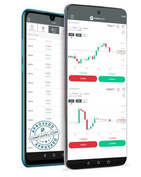 aplicativo tradear