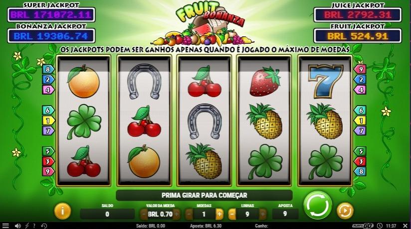 fruit bonanza no frank & fred cassino