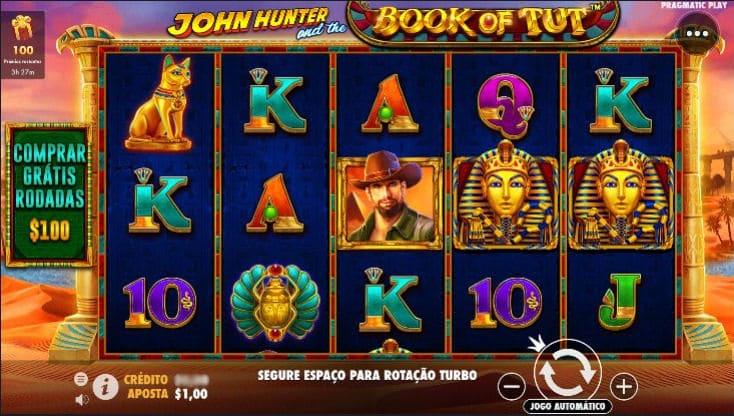 caça niqueis john hunter no joo casino
