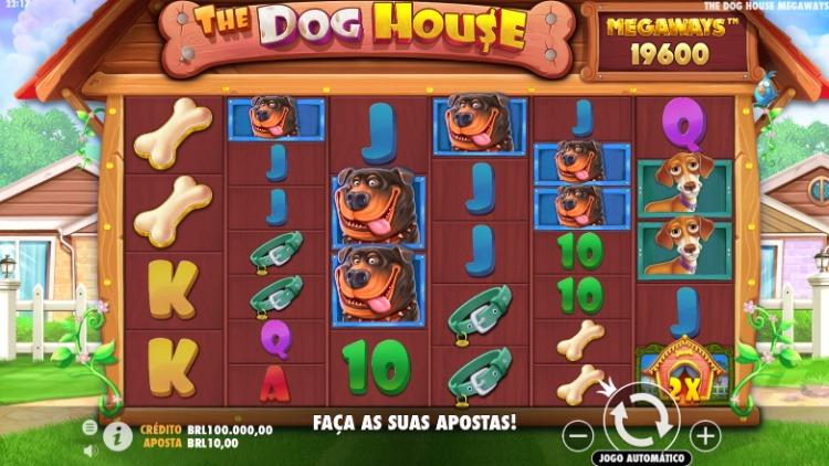 The Dog House tela de aposta
