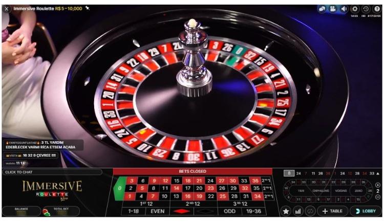 immersive roulette casino twin