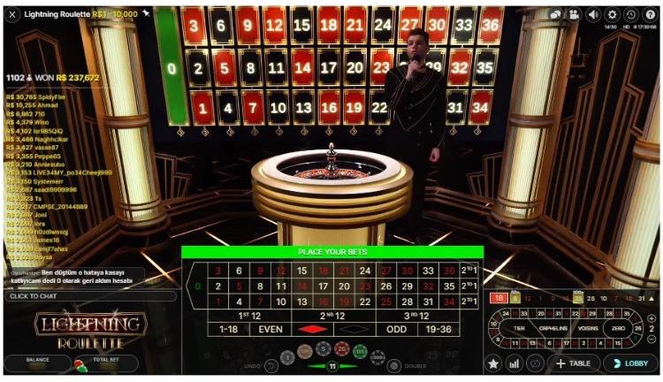 lightning roulette casino twin
