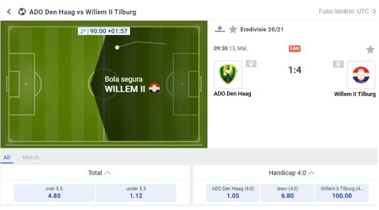 interface das apostas de futebol do cyberbet