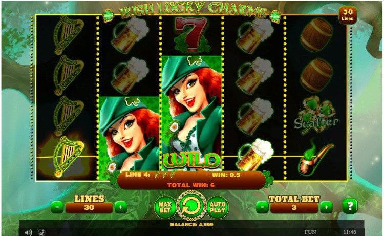 irish lucky slot exclusivo do 1xslots