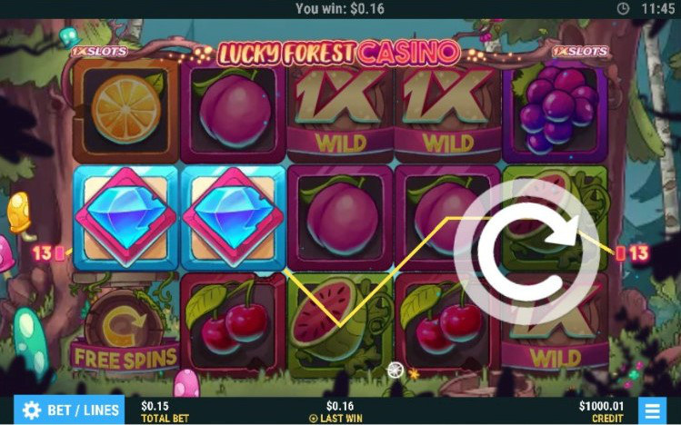 slot exlusivo 1xslots lucky forest