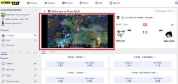 transmissão ao vivo esports cyber.bet