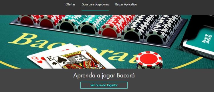 guia para jogador cassino bet365
