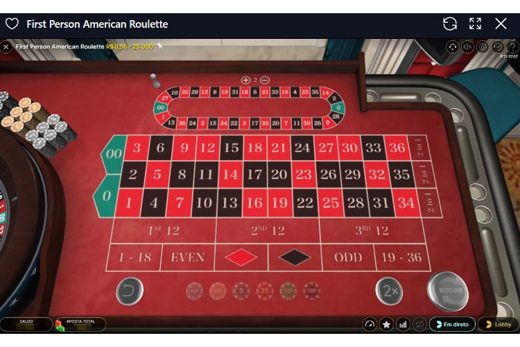 roleta americana casinoin