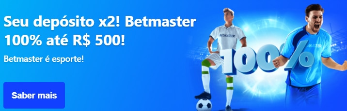 betmaster bonus boas vindas