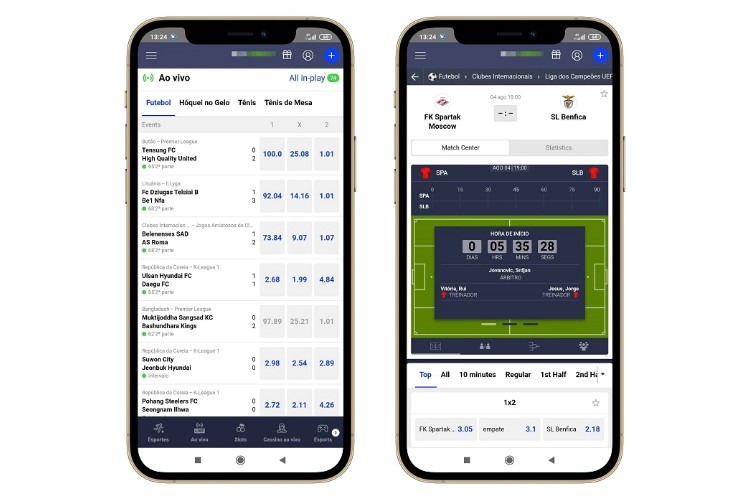 mockup betmaster app