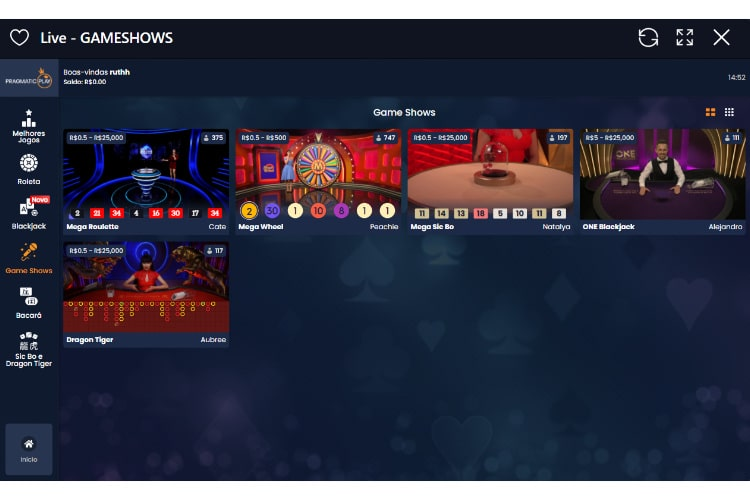 lobby casinoin live