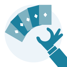 mão de poker