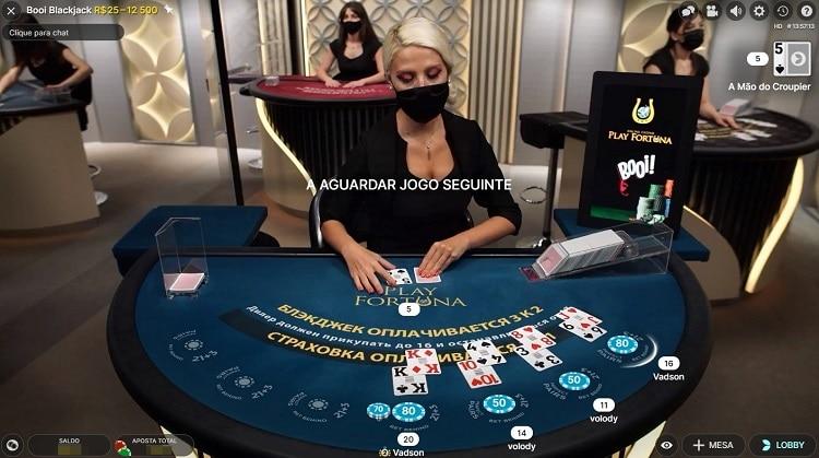 blackjack exclusivo booi casino
