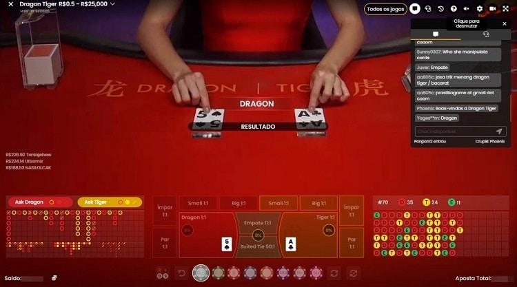 dragon tiger booi casino
